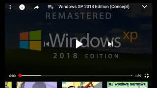 Windows XP 2018 new update