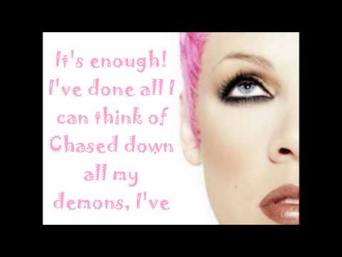 P!nk - Fukin' Perfect Lyrics