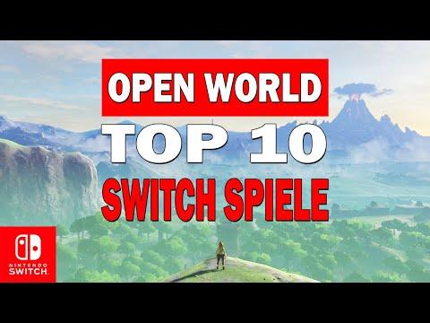 10 Top Open World Spiele für Nintendo Switch (2021)