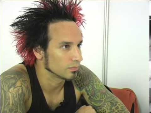 Stone Sour 2006 interview - Roy Mayorga (part 1)