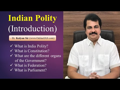 Indian Polity - Introduction video