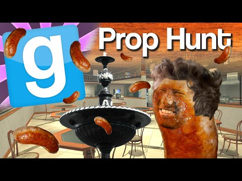 Gmod Prop Hunt #1 - Sausage Fountain video