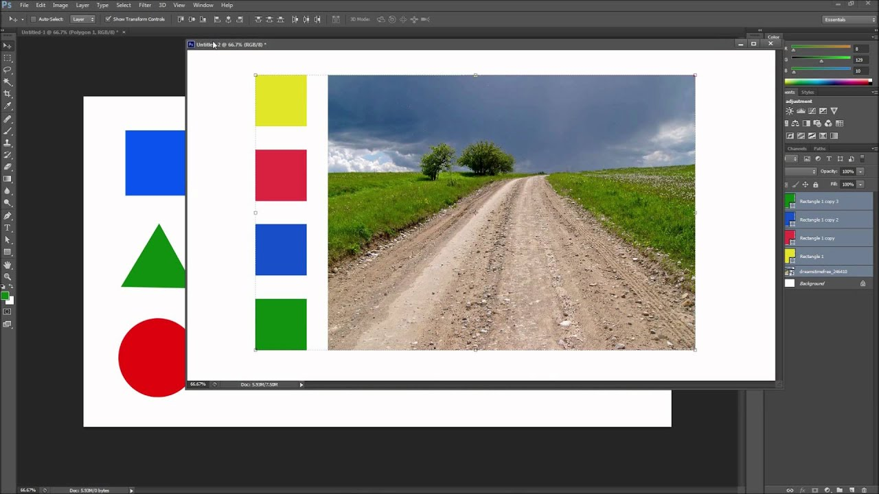 how to put images in one pdf file