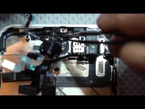 Apple iPhone 4S Sensor Ligth Ambient power button pulsante accensione e sensore di luce ambiente