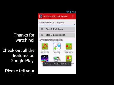Parental Control for Android Locks your Phone & Motivates Kids to do Their Chores!