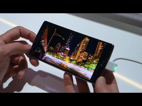 LG G Flex 2 Hands On (CES 2015)