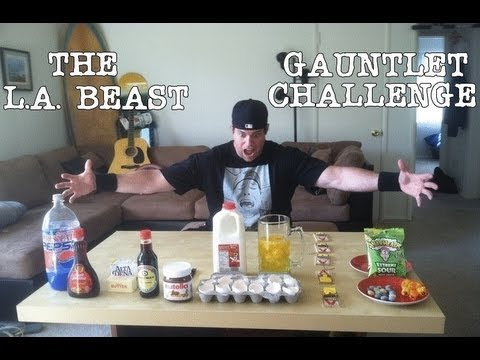 The L.a. Beast Gauntlet Challenge video