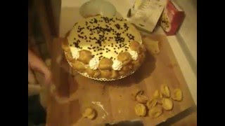 Torta saint honorè con crema chantilly - ricetta # 05