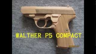BLOW⇔BACK RUBBER BAND GUN 01.2 WALTHER P5 COMPACT