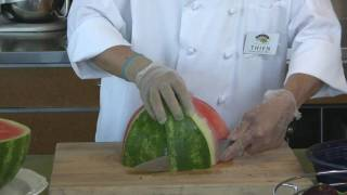Watermelon: An easy way to slice it