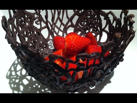 0 Making Chocolate Decorations