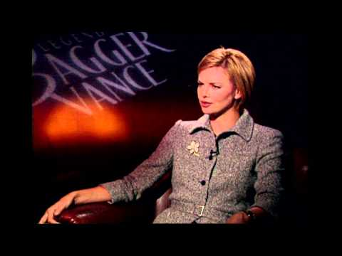 The Legend Of Bagger Vance: Charlize Theron Interview