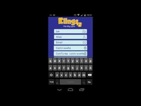 Saldo Gratis con Klings aplicación para android