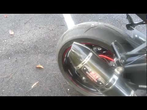2013 ZX10R with Straight midpipe(modded) Yoshimura R77 Overview