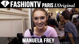 Model Manuela Frey | Beauty Trends for Spring/Summer 2015 | FashionTV
