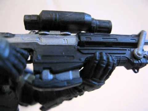 McFarlane Halo Reach Series 3 Jun Figure review