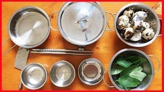 Đồ chơi nấu ăn thật LÀM BỮA SÁNG VỚI MÌ XÀO VÀ TRỨNG ỐP LA (Chim Xinh)