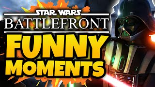 Star Wars Battlefront Beta - Funny Moments! - (SWBF 3 Gameplay)