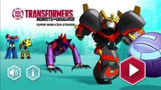 I.G.- Transformers Robots In Disguise Super Mini-Con Striker