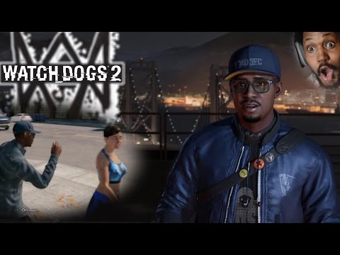 I CAN FLIRT. I CAN HACK. AND I'M BLACK.. say no more   Watch Dogs 2 Gameplay