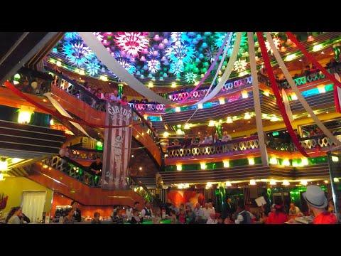 Costa Concordia Walkthrough Hd Just Before Sinking Youtube