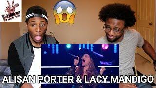 "Download Lagu The Voice 2016 Battle - Alisan Porter vs. Lacy Mandigo: ""California Dreamin'""  (REACTION) Gratis STAFABAND"