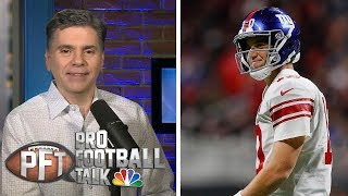 Eli Manning begins his farewell tour in New York | Pro Football Talk | NBC Sports