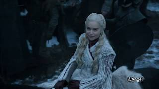 Game of Thrones~Season 8: Episode 1~ Dragons arrive at Winterfell and Jon Snow rides a dragon!