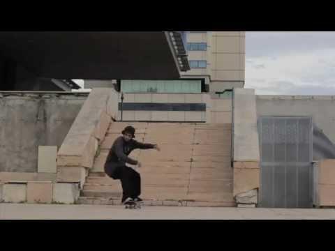 Jart Skateboards - Sergio Muñoz tre´flip Bordeaux 14