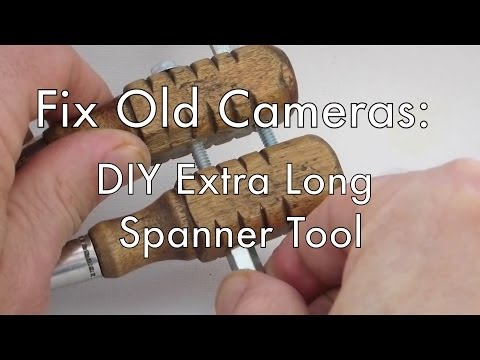 Fix Old Cameras: DIY Extra Long Spanner Wrench