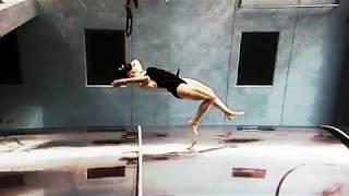 Acrobatic Underwater Dance
