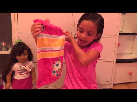 How To Pack For Your American Girl Doll - Grace
