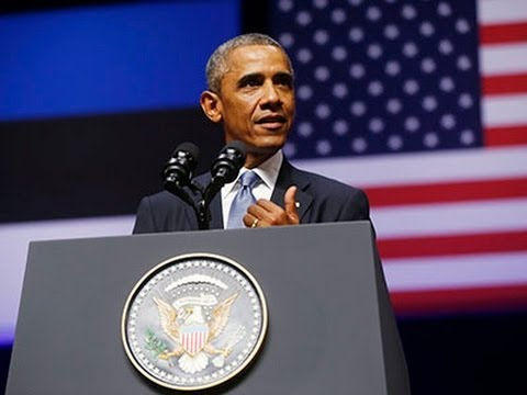 Obama Vows NATO Support to Allies Against Russia