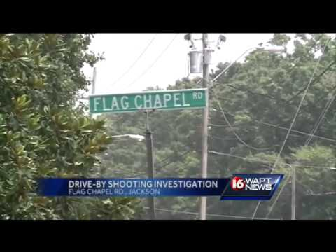 Drive by shooting in Jackson
