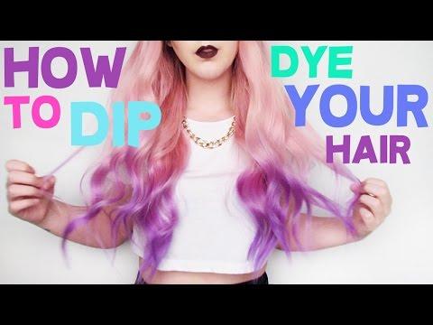 How To: Dip Dye Your Hair!!  | by tashaleelyn
