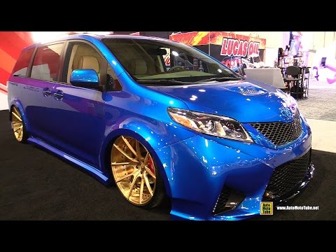 2016 Toyota Extreme Sienna Cutom by Real Time Automotive - Exterior, Interior Walkaround SEMA 2016