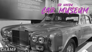 RARE VINTAGE CARS IN INDIA | GD NAIDU CAR MUSEUM | 2019