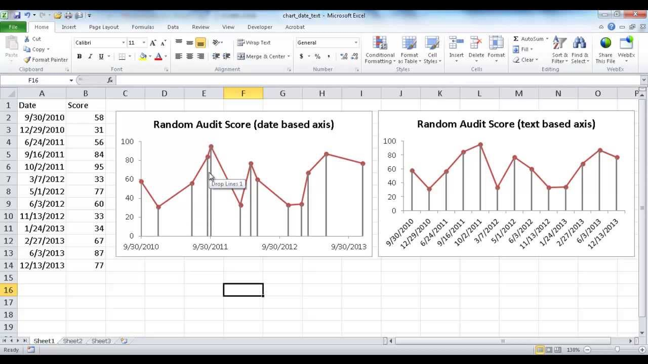 how to jump to next line in excel