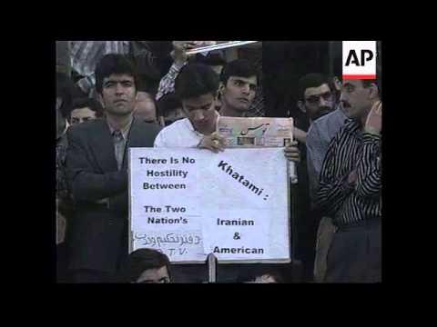IRAN: ANNIVERSARY OF US EMBASSY TAKE OVER MARKED