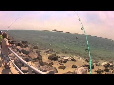 Fishing the Ponce Inlet for Flounder and Mangrove Snapper