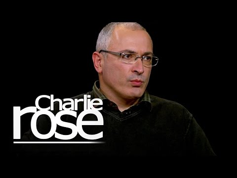Mikhail Khodorkovsky on Whether He'll Return to Russia (Oct. 2, 2014) | Charlie Rose