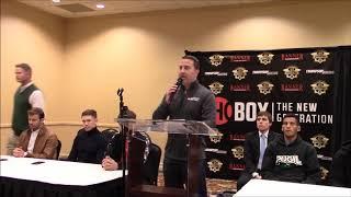 ShoBox Press Conference Villa vs Collado  Jan 29, 2020 Shreveport, LA