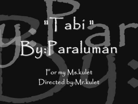 tabi - paraluman ft. kean with lyrics