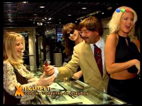 Figuretti con las Conejitas de Playboy - Videomatch 1997