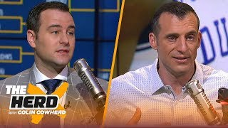 Evan Daniels on Zion's progression, UCLA's interest in Calipari & upset picks | CBB | THE HERD