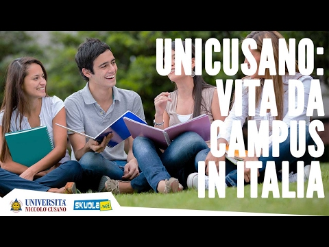 Vita da campus: all'università come al college (in Italia)