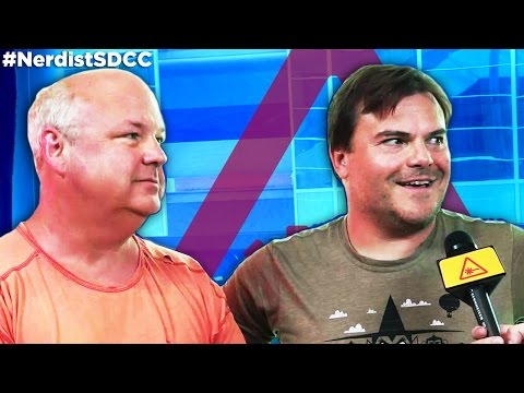 Tenacious D's JACK BLACK & KYLE GASS talk FESTIVAL SUPREME and Comic Con - Nerdist @ SDCC