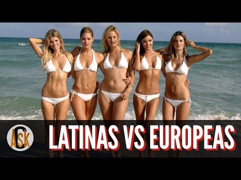 ► 7 Diferencias Entre Las Mujeres Europeas Y Las Latinas