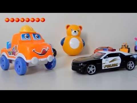 Мультики про машинки Полицейская машина и Эвакуатор - Город машинок 92 серия Мультфильмы для детей