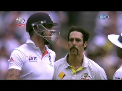 Mitchell Johnson vs Kevin Pietersen The Ashes 2013